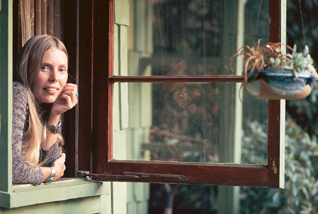 Joni in Laurel Canyon by Henry Diltz