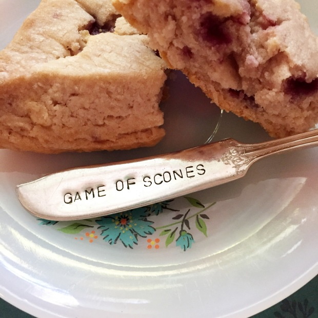 Game of Scones_ spreader Potluck Tableware Bean and Noodle photo by Stacey Van Landingham